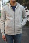 RALPHLAUREN(ラルフローレン)CLASSICFLEECEHOODY(クラシックフリースフーディ)日本未発売モデル【春夏新色薄い霜降りグレー】メンズスウェットパーカー送料無料