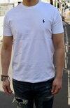 RALPHLAUREN(ラルフローレン)SOLIDCREWT-SHIRTS(ソリッドクルーネックTシャツ)【日本未発売モデルメンズTシャツ】【WHITE】あす楽対応