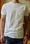 J.CREW(J.クルー)SLIM-WASHEDPOCKET-T-SHIRTS(スリム-ウォッシュドポケットTシャツ)ジャストなスリムフィット無地Tシャツ柔らかな肌触りのポケTEEあす楽対応