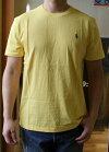 RALPHLAUREN(ラルフローレン)SOLIDCREWT-SHIRTS(ソリッドクルーネックTシャツ)【日本未発売モデルメンズTシャツ】【YELLOW】あす楽対応送料無料