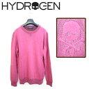 送料無料 ハイドロゲン 【 HYDROGEN 】セーター 長袖 120804【 メンズ fuchsia XS S M L XL 】【あす楽対応】