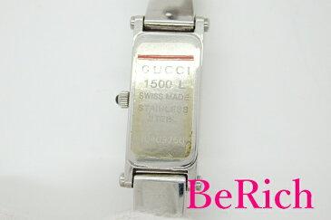 グッチ GUCCI レディース 腕時計 バングル ウォッチ 1500L シルバー 文字盤 SS ブレス アナログ クォーツ QZ 【中古】 bt1675