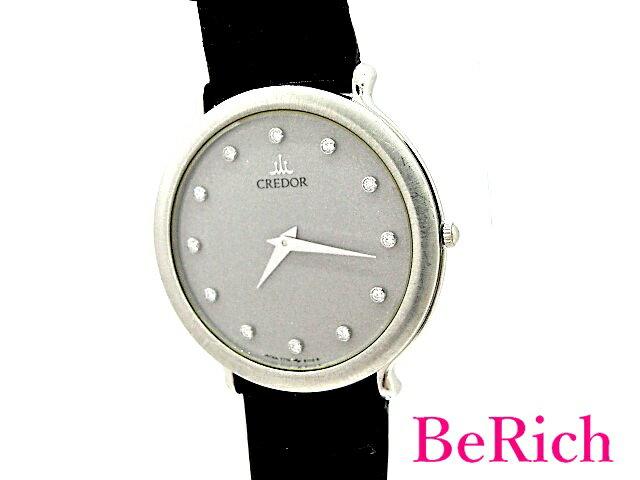 腕時計, メンズ腕時計  7770-6100 Pt900 12P QZ mk2274