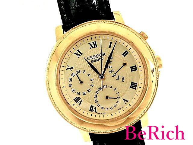 腕時計, メンズ腕時計  4S77-0100 K18YG 100m SEIKO sb403