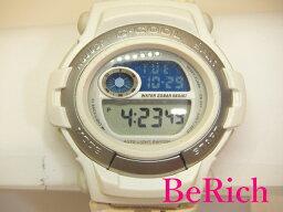 カシオ CASIO G-SHOCK Gショック メンズ 腕時計 GT-003 白 ホワイト 文字盤 樹脂 SS レザー クォーツ QZ ウォッチ アナデジ アナログ デジタル 【中古】【送料無料】ht1690