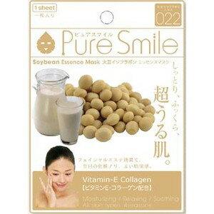ピュアスマイル (Pure Smile) エッセンスマスク 大豆 イソフラボン エキス パック