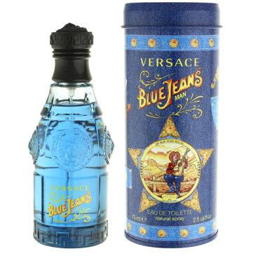 ヴェルサーチ (ベルサーチ) ヴェルサス ブルー ジーンズ EDT オードトワレ SP 75ml (香水)