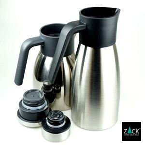 サーマルポット(保温ポット)|ZACK21011PELAGOステンレスボトルティーポットティーウェア保冷保温1.5Lおしゃれかっこいい上質高級ホテルライクドイツデザイナーズ[在庫有り]