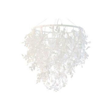 ペンダントランプ ペーパーフォレスティグランデ|DI CLASSE ディクラッセ 照明 天井照明 シャンデリア シーリングライト デザイナーズ ナチュラル クラシック モダン シンプル 葉っぱ 造花 アーティフィシャルグリーン 光触媒