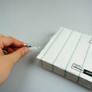 カクテルナプキン(20枚入)|PAPER+DESIGNペーパーナプキン紙ナプキンデコパージュカラフルポップシックモダンピクニックパーティお弁当25x25cm白×ブルーストライプPD100163[在庫有り]