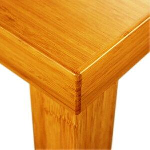 竹集成材のKダイニングテーブル(角脚)W900|TEORITD-K985テオリ倉敷の美しい竹家具国内産手作りモダンデザインナチュラルバンブー