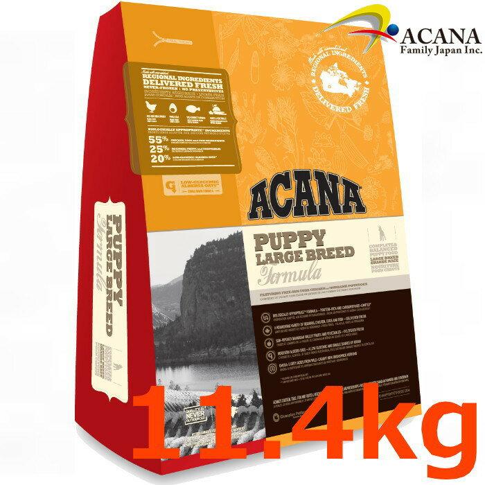 アカナパラージブリード 11.4Kg大型犬子犬【ACANA、アカナパラージブリード、アカナドライフード】