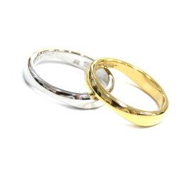 Cartier (カルティエ) ラブミー2連リング 指輪  750YG/WG #48 K31747