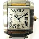 Cartier(カルティエ)/タンクフランセーズLM 腕時計 ウォッチ ボーイズ/オートマチック/白 ...