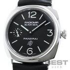 【仮】パネライ【PANERAI】ラジオミールブラックシールロゴPAM00380(OP6826)メンズブラックステンレススティール腕時計時計RADIOMIRBLACKSEALLOGOBLACKSS【中古】