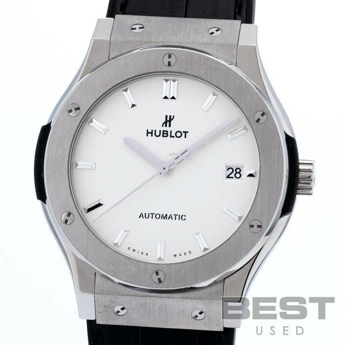 腕時計, メンズ腕時計  HUBLOT 511.NX.2611.LR CLASSIC FUSION TITANIUM OPALIN SILVER TI