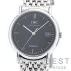 【仮】【OH済】インターナショナルウォッチカンパニー【IWC】ポートフィノIW353306メンズブラックステンレススティール腕時計時計PORTOFINOBLACKSS【中古】