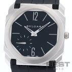 【仮】ブルガリ【BVLGARI】オクトBGO40PXTメンズブラックステンレススティール腕時計時計OCTOBLACKSS【中古】
