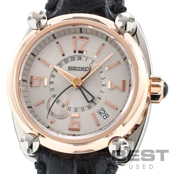 腕時計, メンズ腕時計  SEIKO SBLA002(5R66-0AA0) K18 GALANTE SPRING DRIVE SILVER K18PGTI