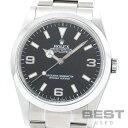 【お買い物マラソン限定クーポン配布中!】【OH済】ロレックス 【ROLEX】 エクスプローラー1 114270 メンズ ブラック ステンレススティール 腕時計 時計 EXPLORER 1 BLACK SS EX1【中古】【中古】