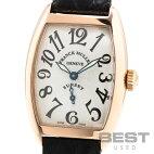 【仮】フランク・ミュラー【FRANCKMULLER】トノーカーベックスサンセット1750S6SUNメンズシルバーK18ピンクゴールド腕時計時計TONNEAUCARVEXSUNSETSILVERK18PG【中古】