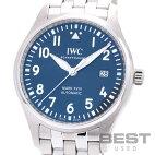 【仮】インターナショナル・ウォッチ・カンパニー【IWC】マーク18プティ・プランスIW327016メンズブルーステンレススティール腕時計時計MARKXVlllPETITPRINCEBLUESS【中古】