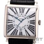 【仮】フランク・ミュラー【FRANCKMULLER】マスタースクエア6000KSCDTメンズシルバーK18ホワイトゴールド腕時計時計MASTERSQUARESILVERK18WG【中古】