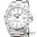 【仮】ロレックス【ROLEX】エクスプローラー216570メンズホワイトステンレススティール腕時計時計EXPLORER2WHITESS【中古】