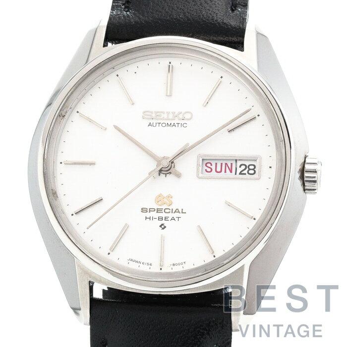腕時計, メンズ腕時計  GRAND SEIKO 6156-8000 SPECIAL HI-BEAT DAYDATE SILVER SS GS