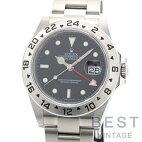 【仮】ロレックス【ROLEX】エクスプローラー216570メンズブラックステンレススティール腕時計時計EXPLORER2BLACKSS【中古】