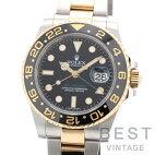 【仮】ロレックス【ROLEX】GMTマスター2116713LNメンズブラックK18イエローゴールド/ステンレススティール腕時計時計GMT-MASTER2BLACKK18YG/SS【中古】