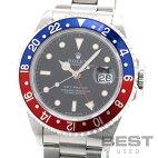【仮】ロレックス【ROLEX】GMTマスター116700メンズブラックステンレススティール腕時計時計GMT-MASTER1BLACKSS【中古】