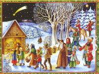 【アドベントカレンダー】ドイツ製アドベントカレンダー 降誕を祝う  クリスマス