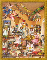 【アドベントカレンダー】ドイツ製アドベントカレンダー アンティークエンジェルズ  クリスマス
