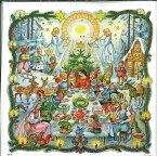 アドベントカレンダー ドイツ製 クリスマス クリスマスイブ カレンダー カウントダウン ギフト 白雪姫 ヨーロッパ 北欧 可愛い イベント インテリア クリスマス カレンダー おもちゃ プレゼント 子供 喜ぶ 孫