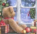 Ambiente アンビエンテ クリスマス ペーパーナプキン おしゃれ 20枚入 テディベア スノーマン デコパージュ ホームパーティー 紙ナプキン ランチサイズ オランダ 素敵 可愛い 女子会 誕生日 パーティー 高品質 ラッピング BBQ 33x33cm