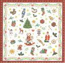 Ambiente アンビエンテ ペーパーナプキン おしゃれ 20枚入 ペーパーナプキン デコパージュ ホームパーティー 北欧 好きにも 紙ナプキン ランチサイズ オランダ ペーパーナプキン素敵 可愛い 女子会 誕生日 パーティー 花柄 高品質 ラッピング BBQ 33x33cm クリスマス