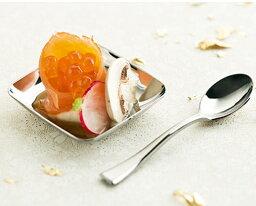 Mozaik Classic スクエアープレート シルバー 200枚入り プラスチックプレート プラスチック食器 パーティー食器 アミューズプレート フィンガーフード スイーツ 使い捨て ケータリング パーティー食器 おしゃれ ホームパーティー 女子会 BBQ