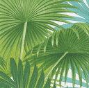 カスパリ ペーパーナプキン デコパージュ ペーパーナプキン おしゃれ ホームパーティー ヤシの葉柄  紙ナプキン ランチサイズ ドイツ ペーパーナプキン素敵 可愛い 女子会 誕生日 パーティー 高品質 ラッピング BBQ 20枚入 33x33cm New York Botanical Garden 所蔵柄