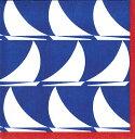 カスパリ ペーパーナプキン デコパージュ ペーパーナプキン おしゃれ ホームパーティー 海 ヨット 好きにも 紙ナプキン ランチサイズ ドイツ ペーパーナプキン素敵 可愛い 女子会 誕生日 パーティー 高品質 ラッピング BBQ 20枚入 33x33cm