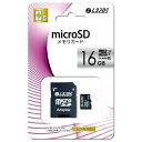 microSDカード 16GB Class10 メモリーカード LAZOS ドライブレコーダー用 デ ...