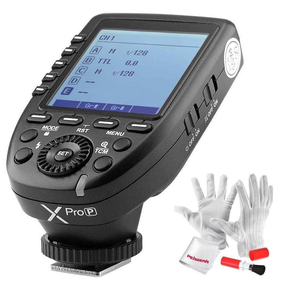 【PDF日本語説明書&正規品】GODOX Xpro-P送信機 ペンタックスTTL2.4Gワイヤレスフラッシュトリガー 高速同期 1 / 8000s Xシステム PENTAX一眼レフカメラ対応  技適マーク付き