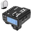 「新品&Godox正規品&技適マーク」Godox X2T-F送信機 TTL ワイヤレスフラッシュトリガー 1/8000 HSS ブルートゥース接続可能 新ホットシューロック 新AFアシストライト 富士カメラ対応 トリガー