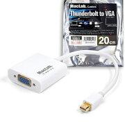 Thunderbolt Displayport アダプタ ホワイト サンダーボルト ミニディスプレイポート ケーブル 金メッキ