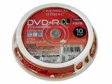 ◆○入荷待ち!!DVD-R DL 8倍速対応/10枚スピンドル【HI DISC】HDDR21JCP10SP