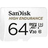 ◆△高耐久(監視カメラ用)マイクロSD【SANDISK】SDSQQNR-064G-GN6IA