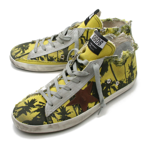 メンズ靴, スニーカー 5 GOLDEN GOOSESNEAKERS FRANCY PALM PRINTED G30MS591 A60