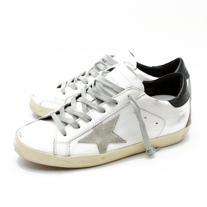 レディース靴, スニーカー  5 GOLDEN GOOSESNEAKERS SUPERSTAR WHITE BLACK CREAM METAL LETTERINGGCOWS590 W55