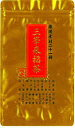 イチワタ厳選素材21種三峯来福茶400g(4560201895417)