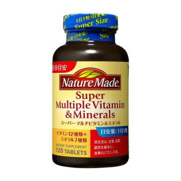 ネイチャーメイド スーパーマルチビタミン&ミネラル 120粒 【7個セット】【お取り寄せ】(4987035513711-7)